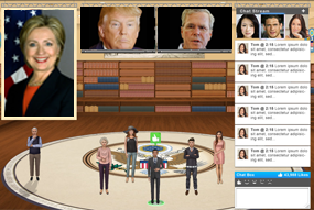 The Political Party Online Chat Rooms